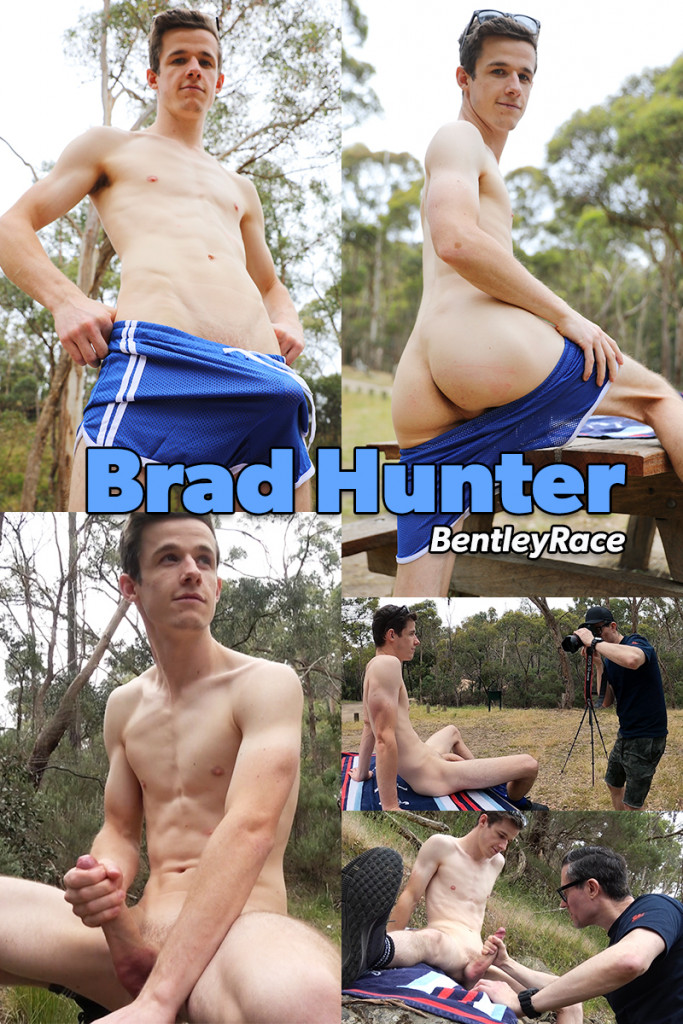 Aussie boy Brad Hunter