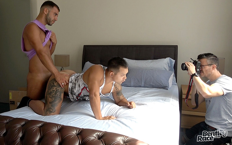 Gay Aussie boys fucking in Aussie porn studio Bentley Race